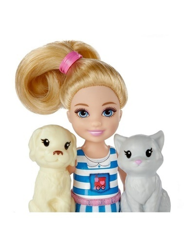 Barbie Barbie Chelsea ve Sevimli Treni FRL86 Renkli